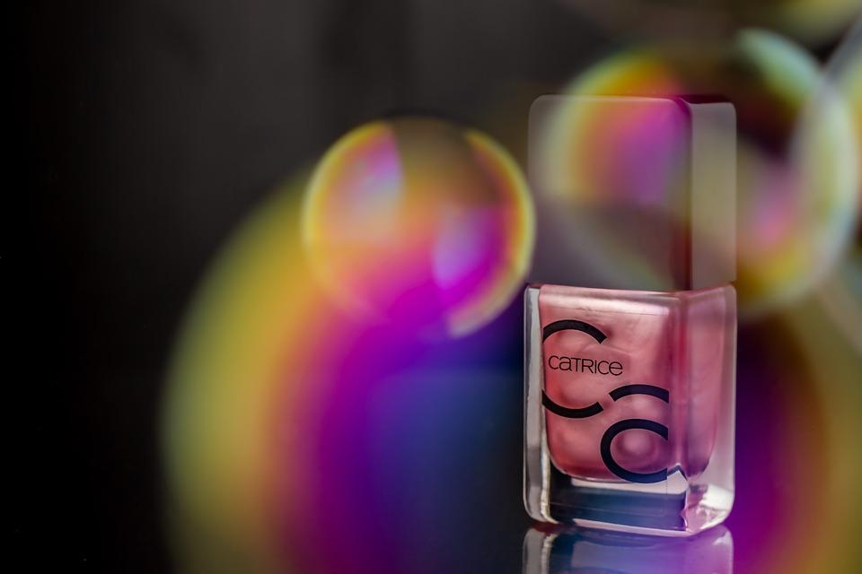 Nail Varnish, Soap Bubbles, Color, Colorful