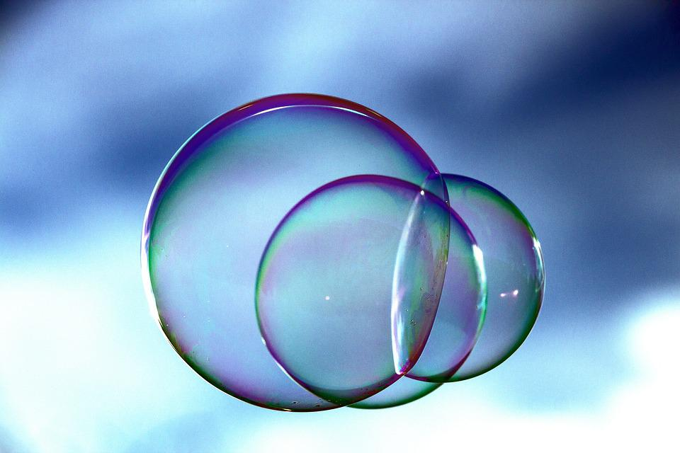 Soap Bubbles, Ball, Colorful, Mirroring, Bubble