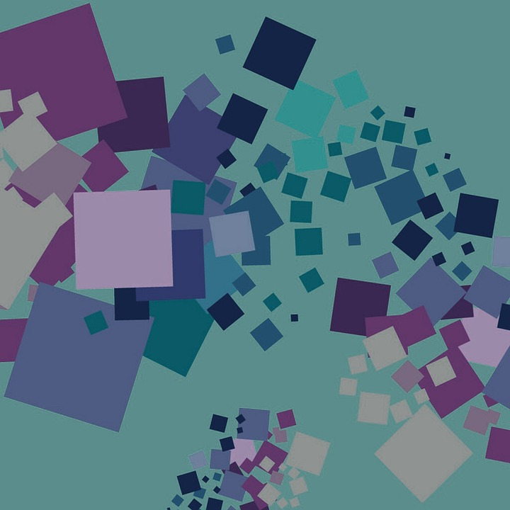 Background, Colorful, Abstract, Squares