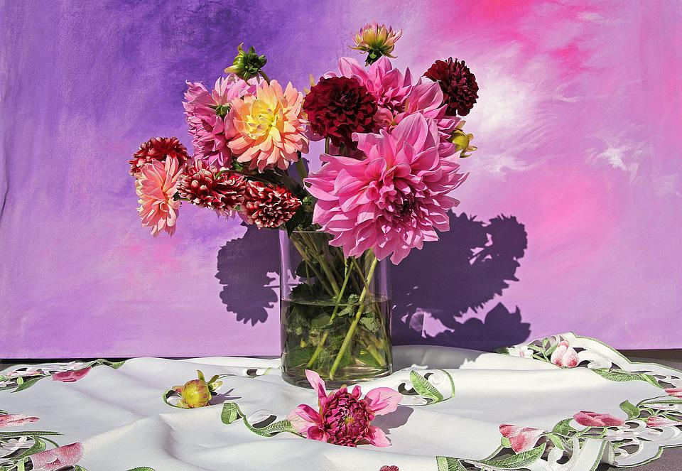 Free photo Colorful Still Life Beautiful Flowers Bouquet - Max Pixel
