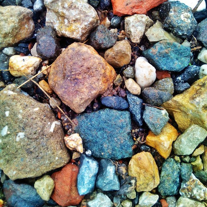 Stones, Colorful, Structure, Pebbles, Pattern, Color
