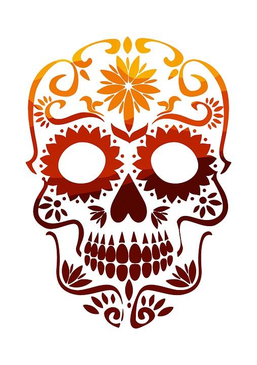 free photo colorful sugar skull skull mexico mexican max pixel