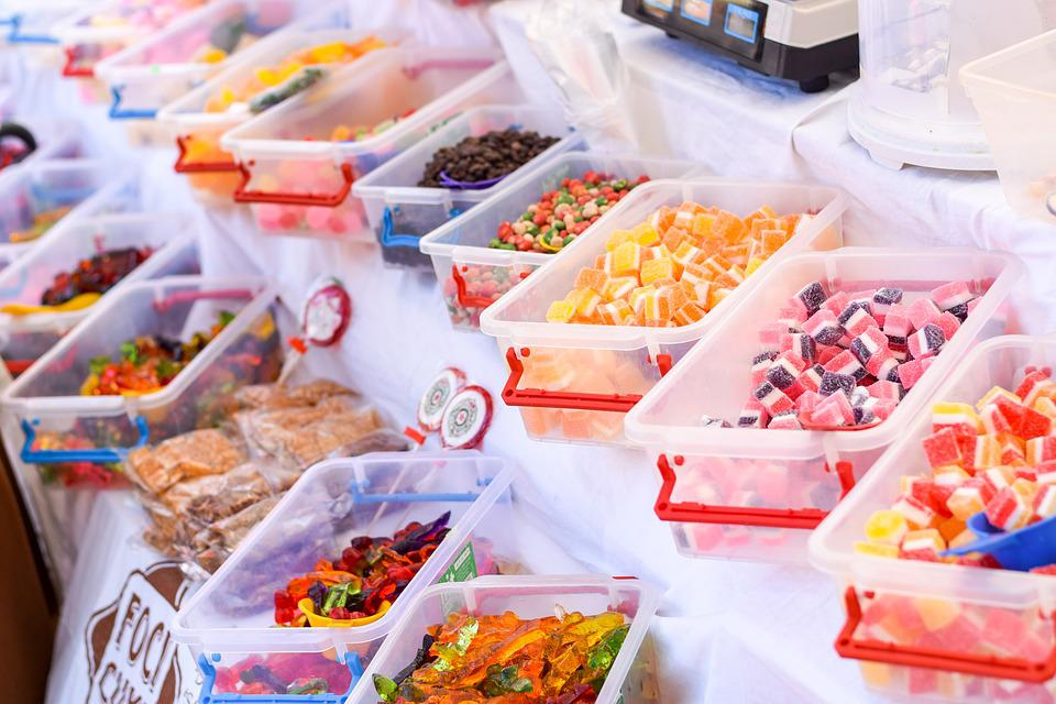 Colorful, Candy, Fair, Sweets