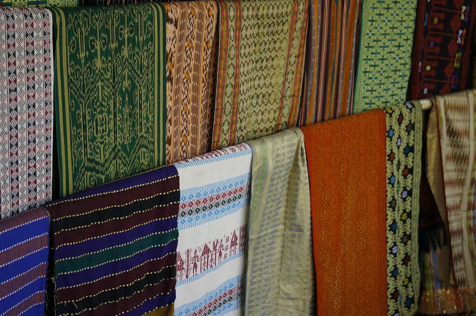 Textile, Blankets, Colorful, Shop