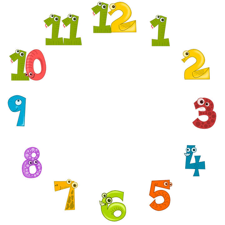 Clock Face, Clock, Dial, Time, Animals, Colorful