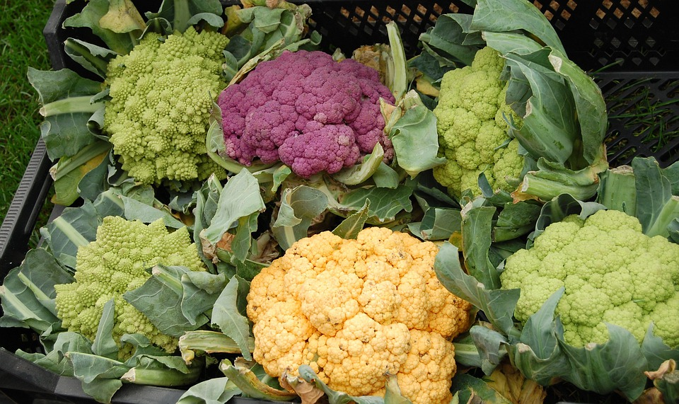 Cauliflower, Vegetables, Colorful, Healthy, Vitamins