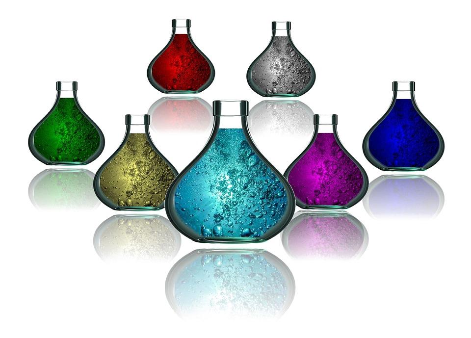 Bottle, Range, Water, Oil Bottles, Color, Colorful, Red