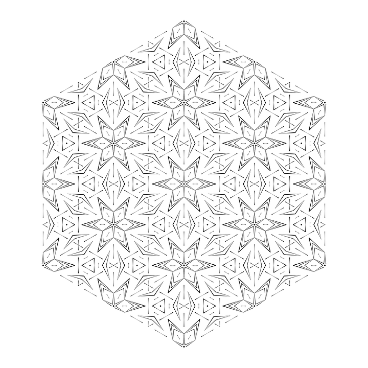 Mandala, Ornament, Coloring, Meditation, Pattern