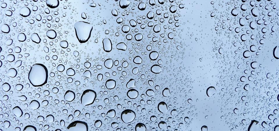 Rain, Wet, Pearl, Bubble, Droplet, Glass, Colors