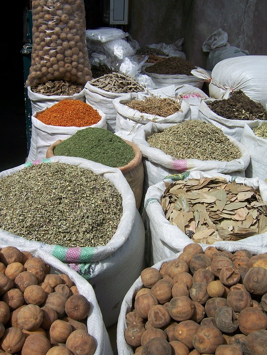 Spices, Spice, Market, Cinnamon, Colors, Exotic