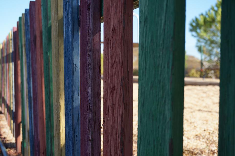 Fence, Colors, Wood Fence, Wood