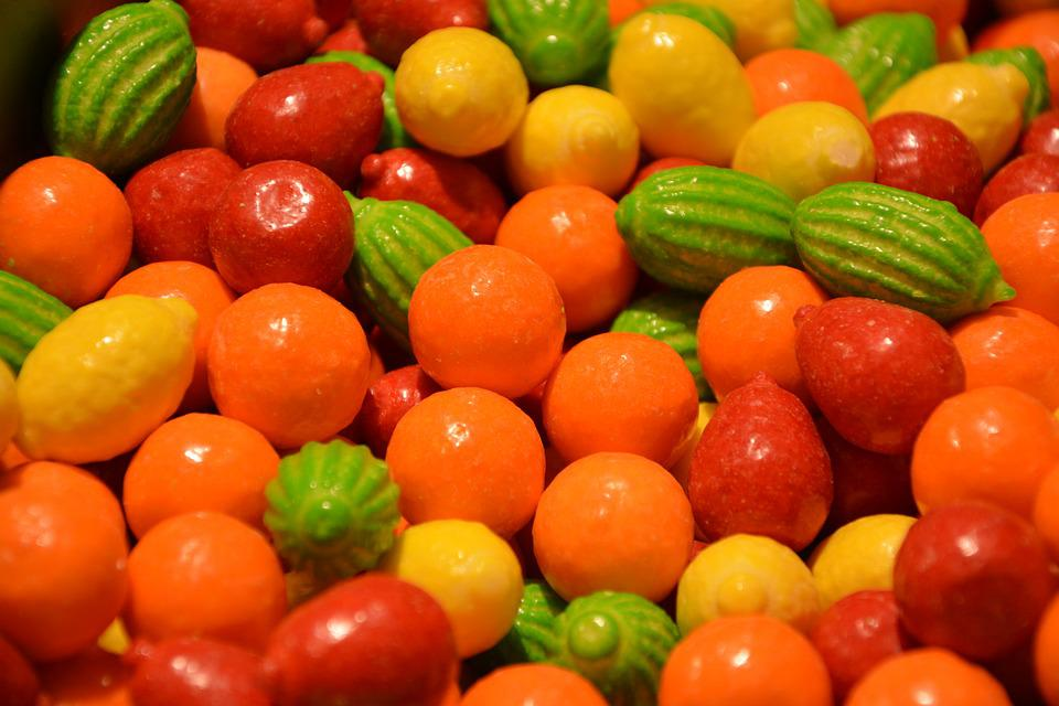 Candy, Confectionery, Sweets, Gluttony, Sugar, Colors