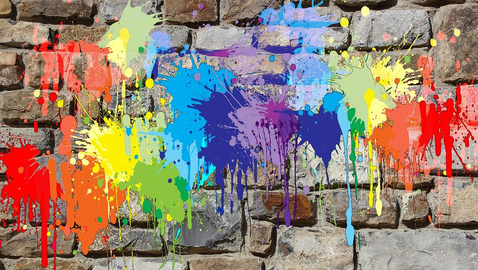 Painting, Wall, Mural, Colors, Graffiti