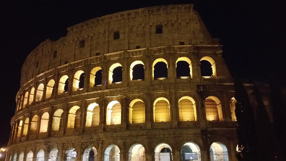 Colosseo, Rome, Ancient, Colosseum, Landmark