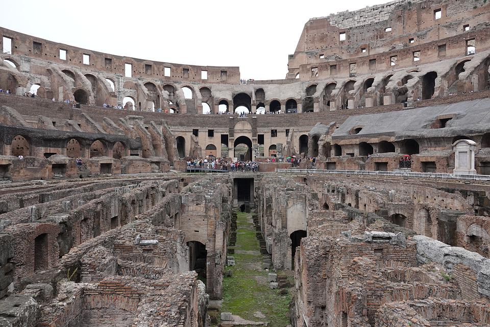 Rome, Antiquity, Colosseum, Italy, Tourism, Romans