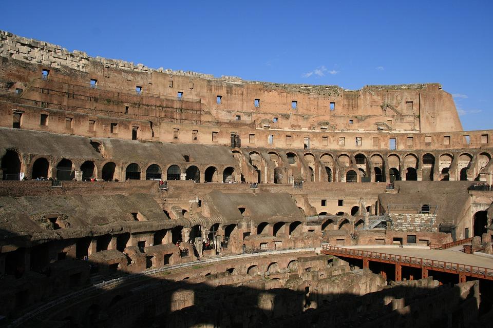 Rome, Collosseum, Antiquity, Colosseum, Italy, Ruin