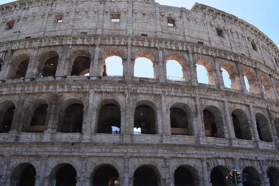 The Coliseum, Colosseum, Rome, Italy
