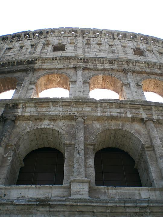 Colosseum, Rome, Old, Italy, Building