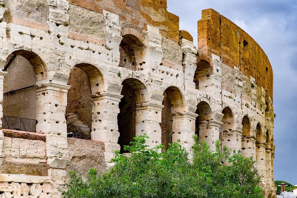 Colosseum, Monument, Antique, Roman, Architecture