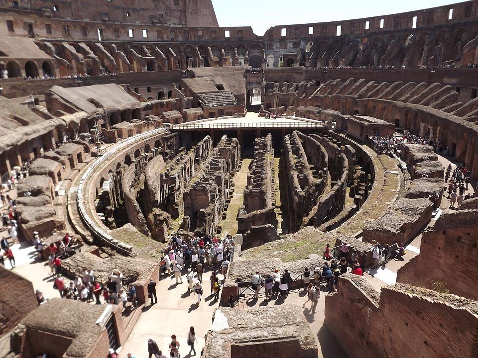 Rome, Colosseum, Azis, Romans, Roman