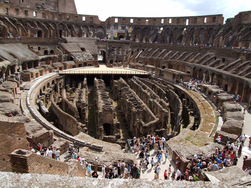 Colosseum, Rome, Roman Coliseum, Gladiators, Italy
