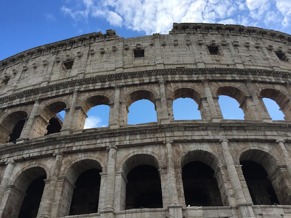 Colosseum, Italia, Trip, Amphitheatre