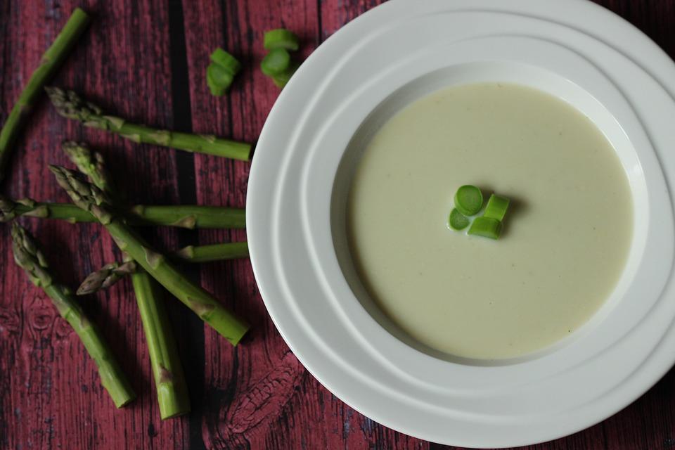 Soup, Asparagus, Green, Colour, Vegetable, Color, Food
