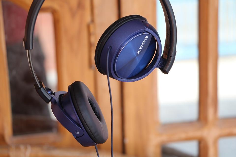 Headphones, Blue, Colour