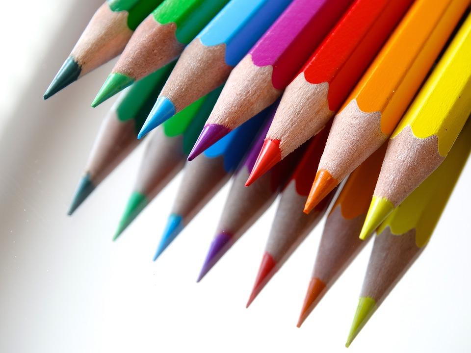 Free photo Colour Pencils Mirroring Colored Pencils Color - Max Pixel