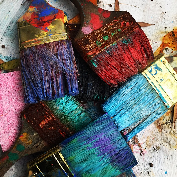 Art, Brushes, Colorful, Colourful, Paint, Paint Brushes