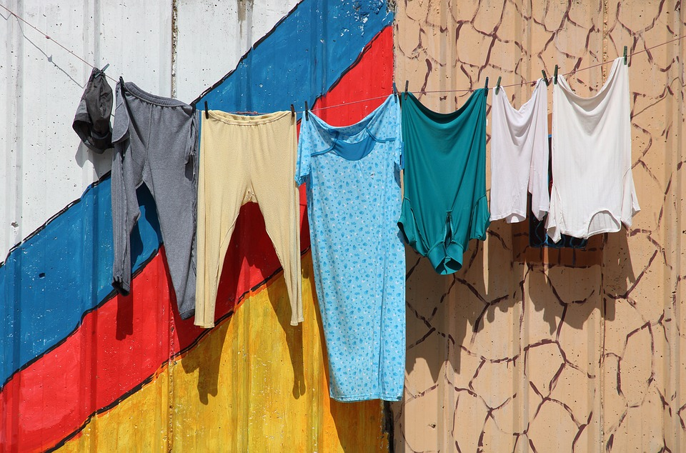 Morocco, Safi, Laundry, Drying, Clothes, Colourful