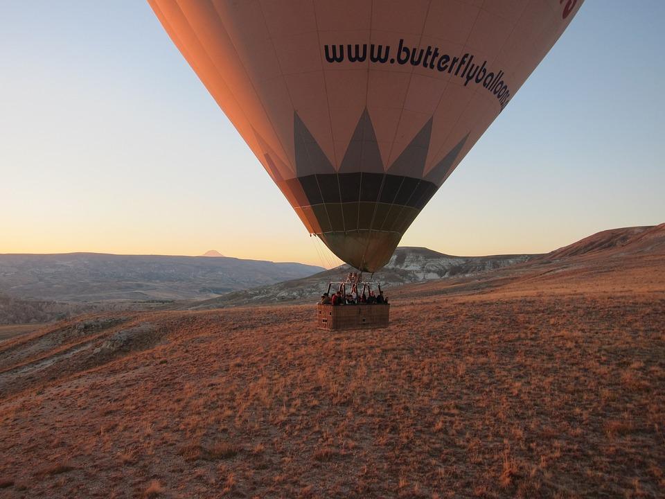 Hot Air Balloon, Sunrise, Colours, Hot, Air, Balloon