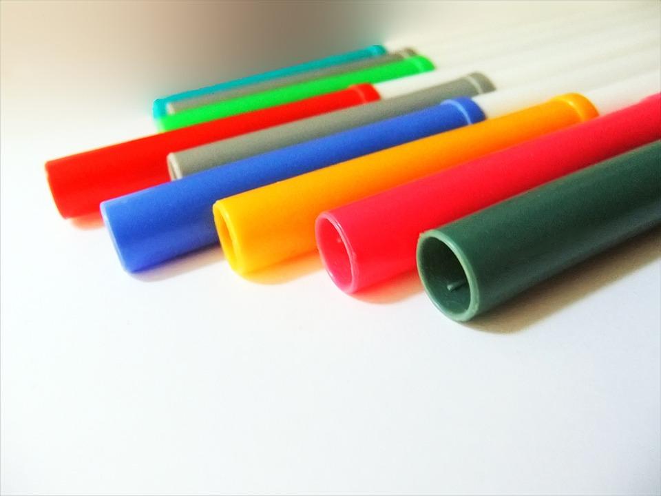 Colour Pens, Felt Tip Pens, Art, Colours, Plastics