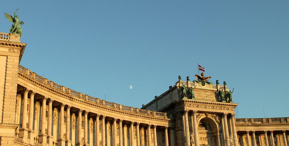 Vienna, Building, Statue, Column