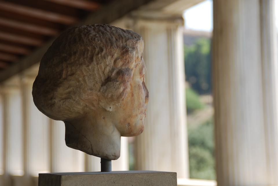 Greece, Sculpture, Column, Athens