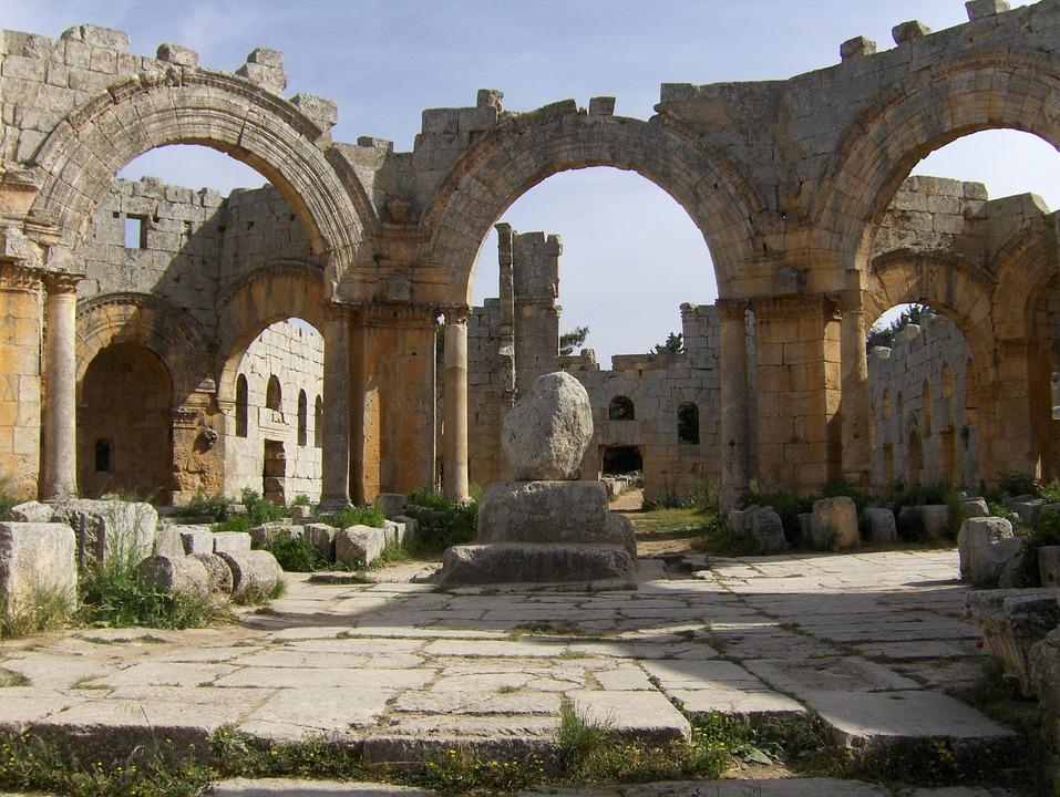 Saint-simeon, Column, Pilgrimage, Stylites