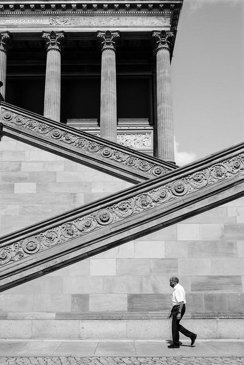 Museum, Temple, Antiquity, Security Guard, Columnar