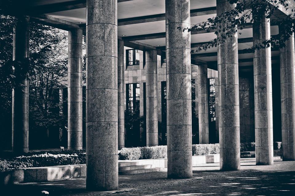 Columnar, Stone, Architecture, Building, Stone Column