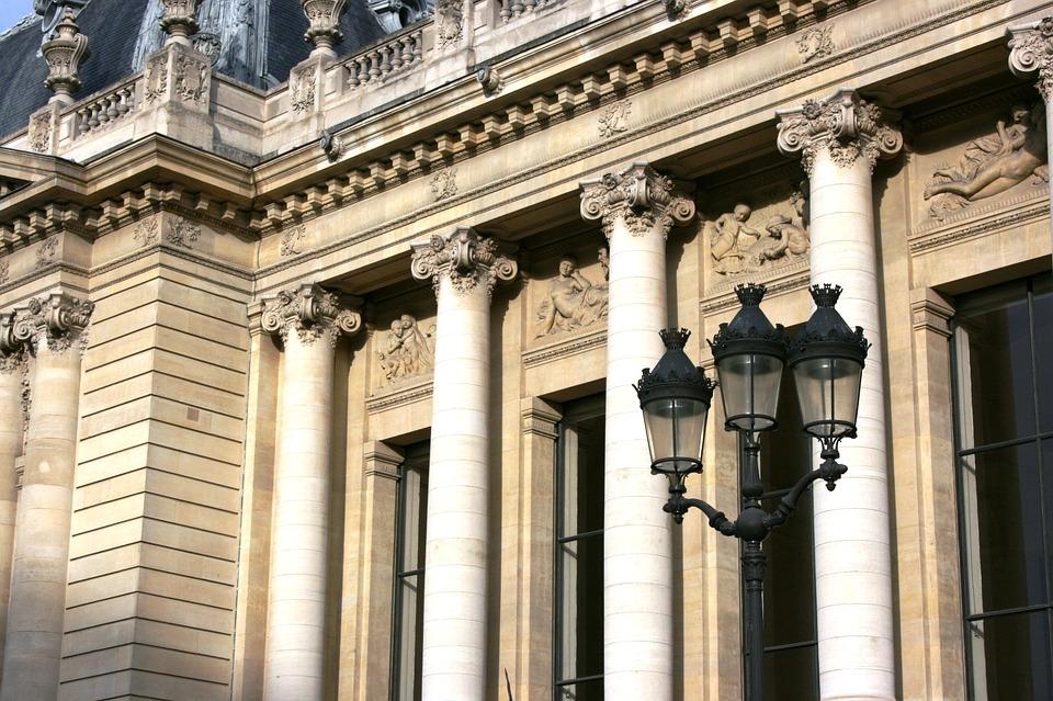 Petit Palais, Columns, Paris, France