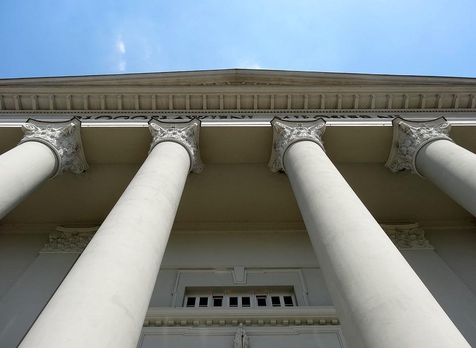 Columns, St Peter's Basilica, Vincent De Paul