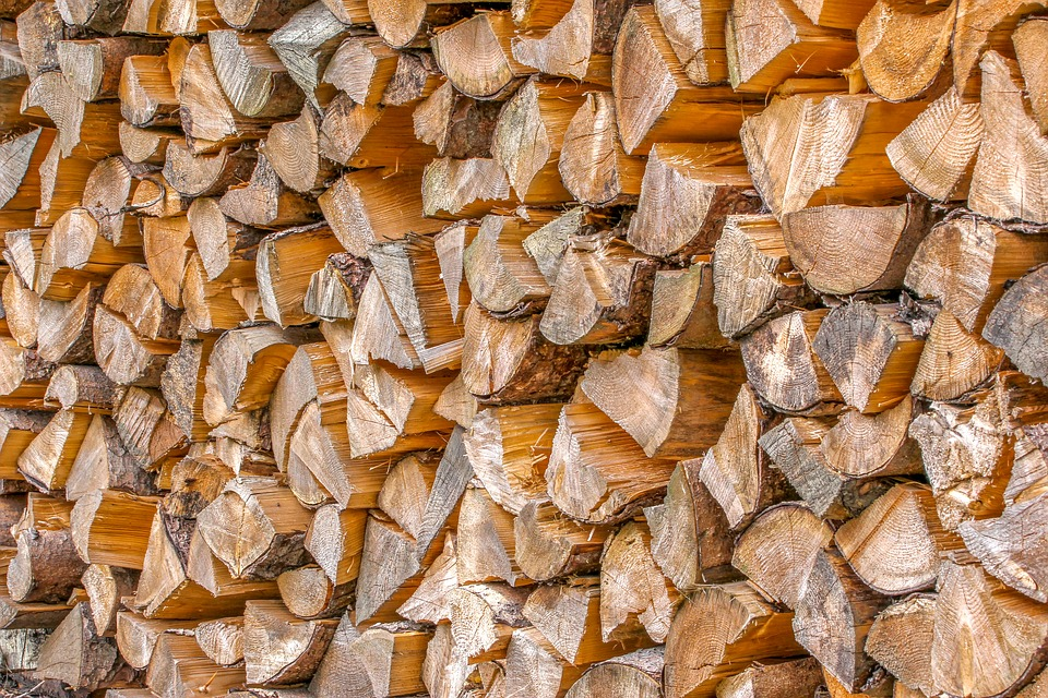 Nature, Holzstapel, Wood, Combs Thread Cutting, Post