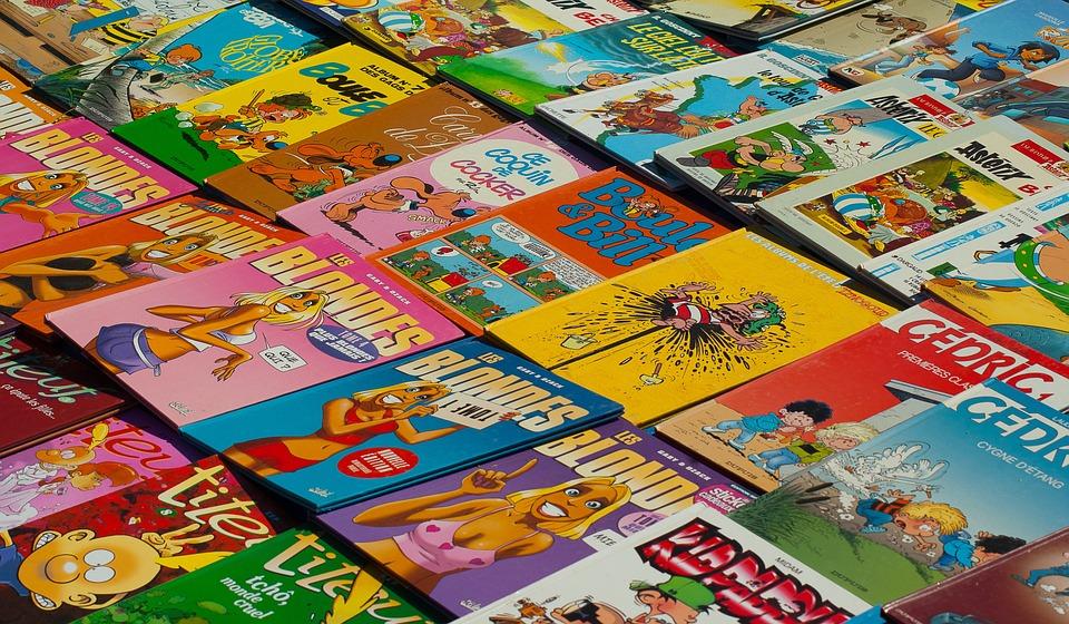 Books, Albums, Comic, Flea Market