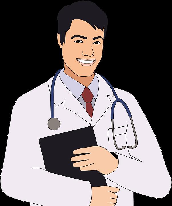 Boy, Cartoon, Checkup, Clinic, Comic, Doctor, Health