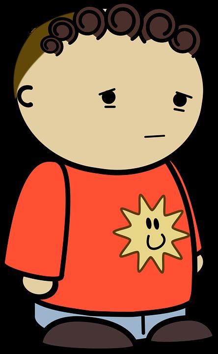 Character, Comic Characters, Sad, Side