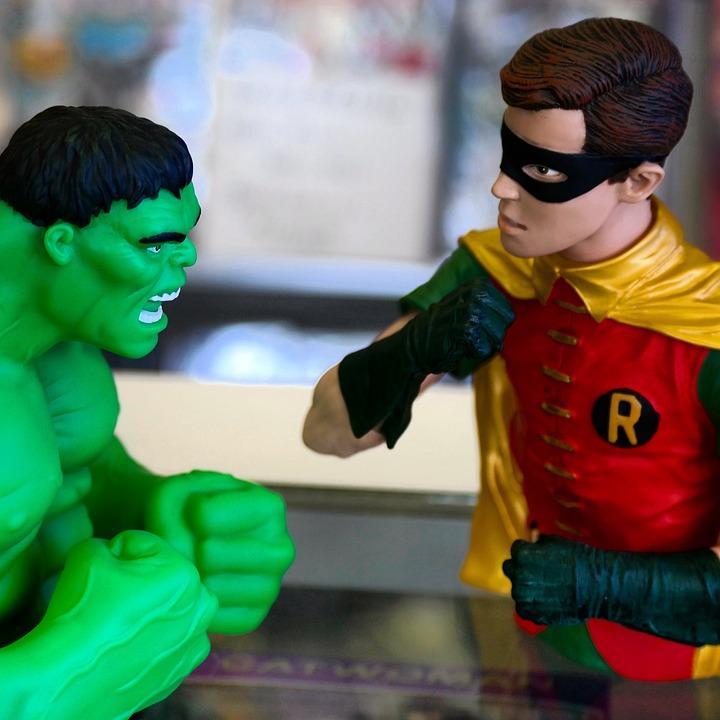 Incredible Hulk, Robin, Comic Book, Comic, Super Hero