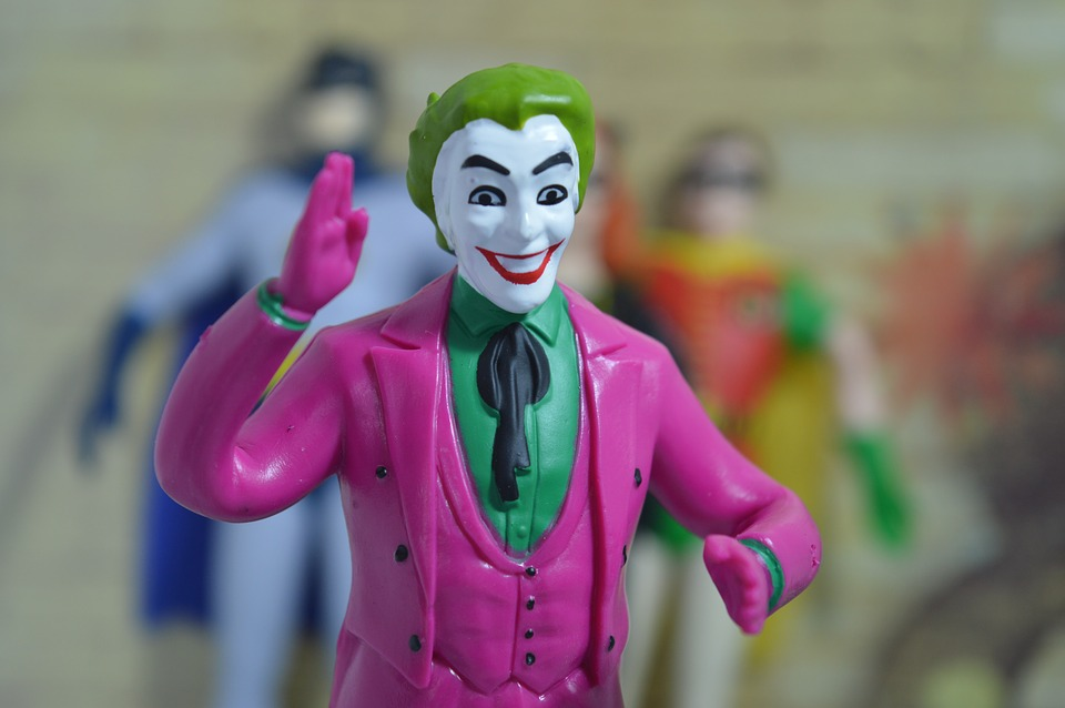 Joker, Villain, Comics, Character, Figurine, Superhero