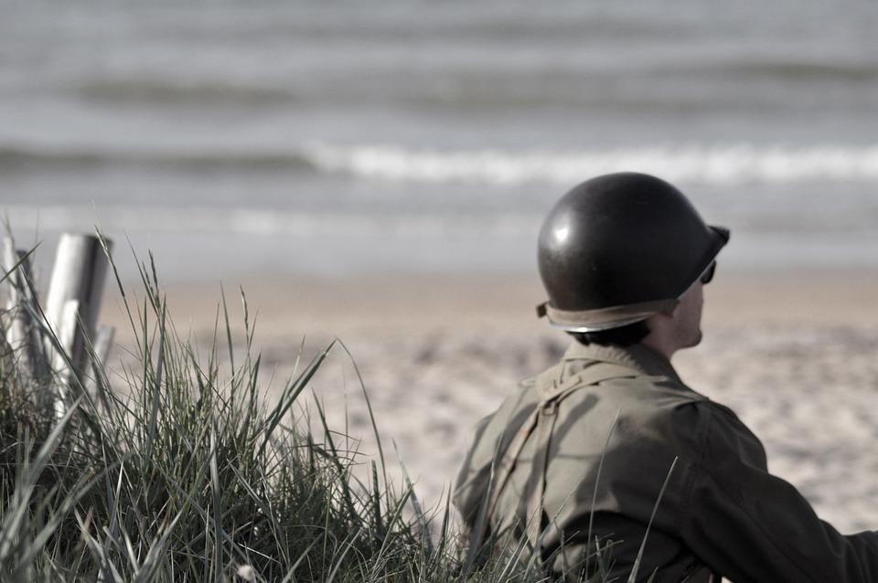 Soldier, War, Normandy, Landing, Commemoration, D Day