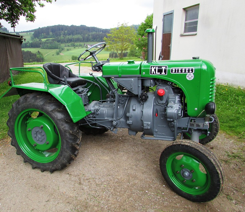 Tractor, Oldtimer, Agriculture, Commercial Vehicle