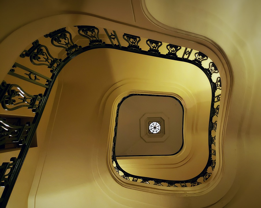 Commitment, Spiral Staircase, Grand, Architecture