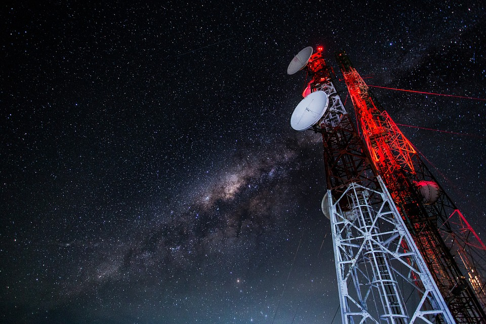 Tower, Antennas, Technology, Communication, Mobile
